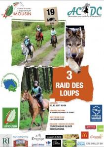 affiche raid des loups